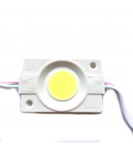 Светодиодный модуль 12V MTK-COB Round 2,4W 6400K