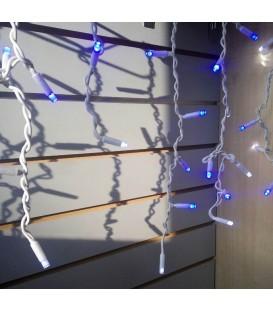 Гирлянда уличная Бахрома 120LED 3м*0,6м белый-синий