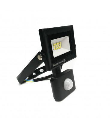 Светодиодный прожектор Horoz Pars 10W 6500K с датчиком движения