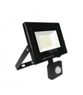 LED прожектор с датчиком Horoz 30W 6500K
