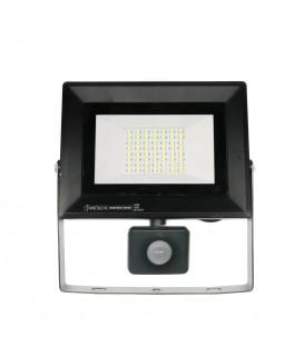 Светодиодный прожектор Horoz Pars 50W 6500K с датчиком движения