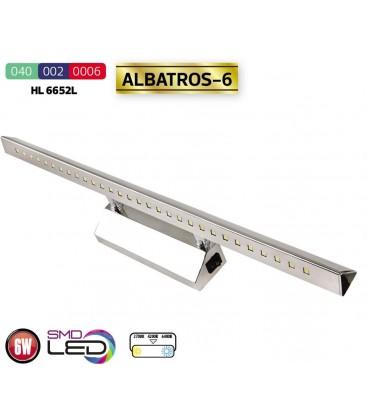"Подсветка зеркал-картин LED ""ALBATROS-6"" 6W 4200K HL6652L"