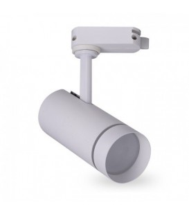 Трековый светильник Feron AL106 10W белый/черный