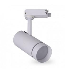 Более Трековый светильник Feron AL106 18W белый/черный