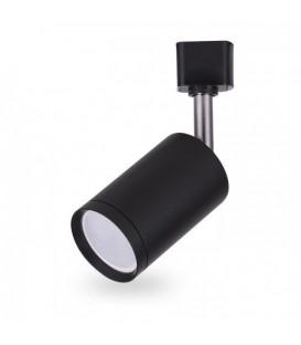 Более Трековый светильник Feron AL155 белый/черный под патрон GU10