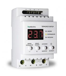 Более Терморегулятор ТР16у2 на DIN-рейку 2,5 кВт
