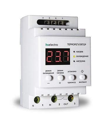 Терморегулятор ТР16у2 на DIN-рейку 2,5 кВт