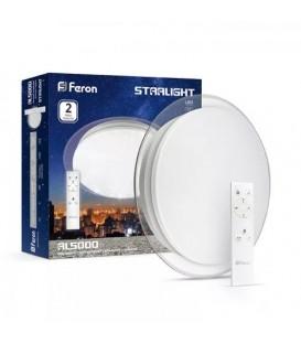 Более Светодиодный светильник Feron AL5000 STARLIGHT 36W с пультом