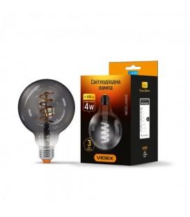 LED лампа VIDEX Filament G95FG 4W E27 2100K 220V