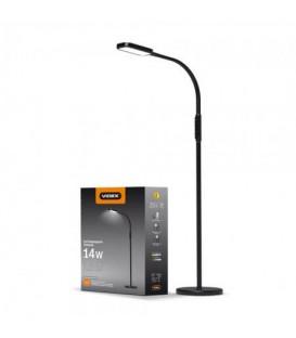 LED торшер напольный VIDEX VL-TF07 14W 3000-5500K 220V