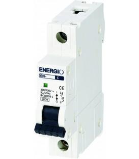 Модульный автоматический выключатель ENERGIO EN-6B 1P C 6кА