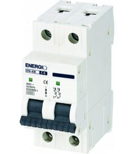 Модульный автоматический выключатель ENERGIO EN-6B 2P C 6кА