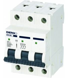 Модульный автоматический выключатель ENERGIO EN-6B 3P C 6кА