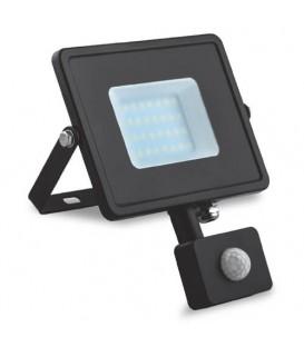 Прожектор светодиодный Feron LL-904 10W 6400K с датчиком движения