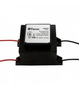 Трансформатор Feron LB157 понижающий AC220V - AC12V 10W/20W IP68 для SP2812, SP2813