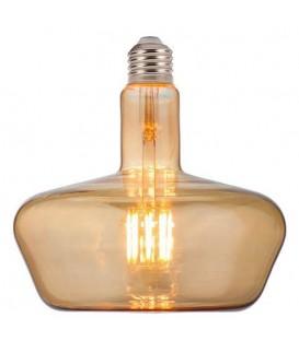 """Лампа светодиодная """"TOLEDO"""" 8W Filament LED Amber / Titanium"""