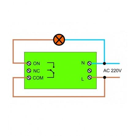 Проходной беспроводной выключатель Inted