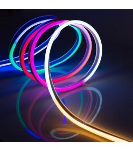 Светодиодная неоновая лента RGB 120Led/m 2835 220В STANDART 12W/m IP65