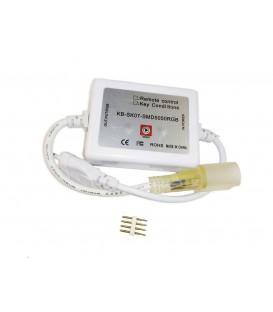 Комплектующие к светодиодной неоновой ленте 72LED/M 550 220В STANDART 12W/M IP65
