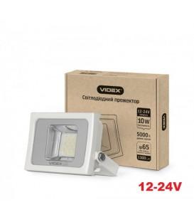 Светодиодный прожектор VIDEX PREMIUM 10W 5000K 12-24V White
