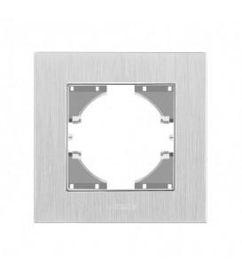 VIDEX BINERA Рамка серебристый алюминий