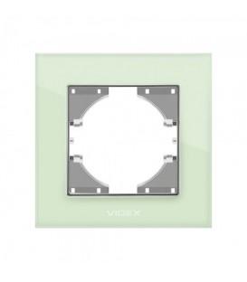 VIDEX BINERA Рамка зеленое стекло