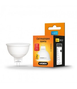 Светодиодная лампа VIDEX MR16e12V 6W GU5.3 4100K