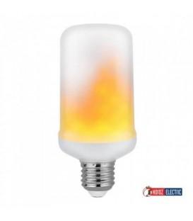 Светодиодная лампа с эффектом огня HOROZ FIREFLUX 5W E27