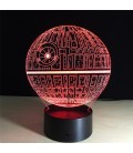 Уценка! 3D ночник Звезда смерти - Death Star