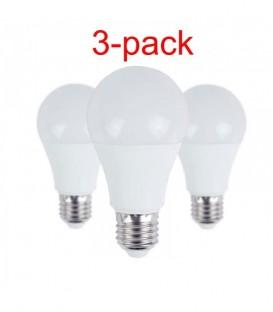 Набор из 3-х LED ламп 10W E27 4000K - суперцена