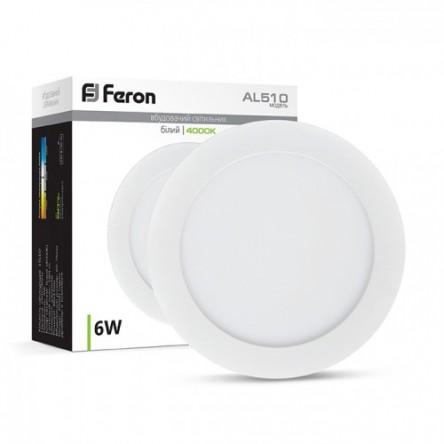 Светодиодный светильник Feron AL510 6W Белый корпус
