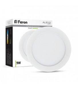 Более Светодиодный светильник Feron AL510 9W