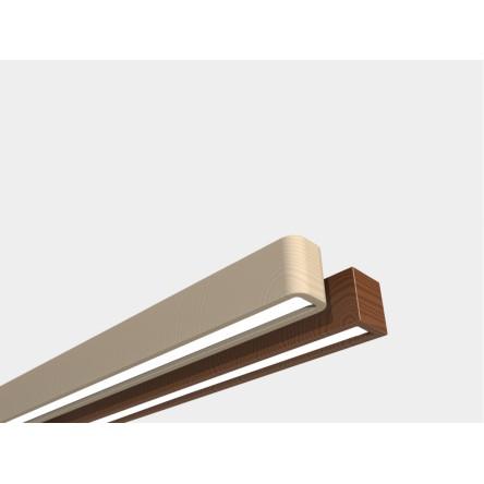 Светодиодный линейный светильник SVL WOODLINE-120 43w 1.2m