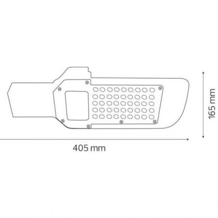 Светодиодный уличный светильник Евросвет консольный ST-50-04 50W 6400К