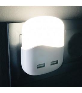 Светильник ночник Feron FN1123 белый