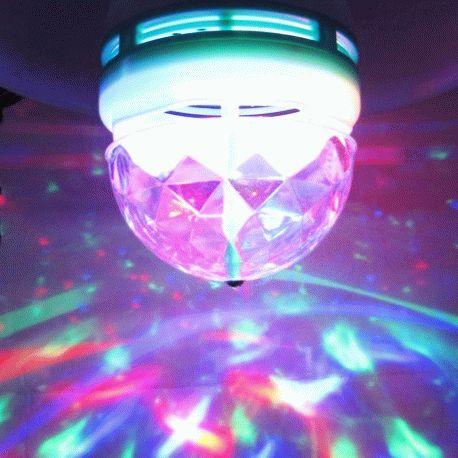 Светодиодная лампа Feron LB-800 disco ( RGB, 3W, E27)