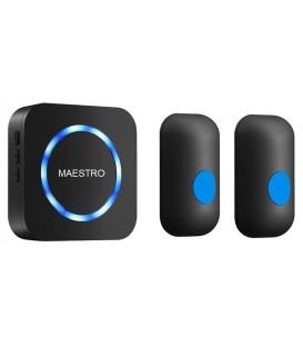 Более Беспроводной дверной звонок MAESTRO с двумя кнопками