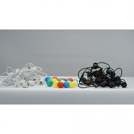 "Гирлянда уличная ""Белт-лайт"" CL50- 8 230V,10*Е27 шаг 50см, 8м+3м шнур, черный IP65"