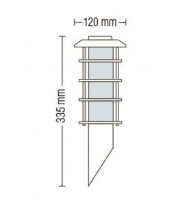 Светильник садово-парковый Horoz LADIN-1 Е27