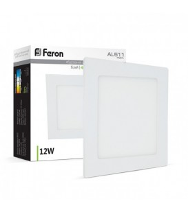 Более Светодиодный светильник Feron AL511 12W 4000K