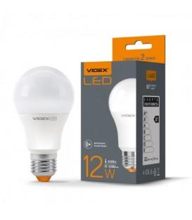 LED лампа VIDEX A60e 12W E27 4100K 220V с датчиком движения