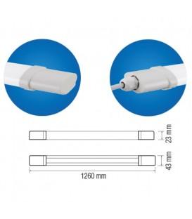 Влагозащищенный LED светильник Horoz IRMAK-36 36W 1160см
