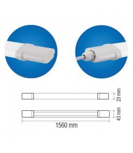 Влагозащищенный LED светильник Horoz IRMAK-45 45W