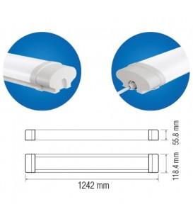 Промышленный LED светильник Horoz Okyanus-72 72W 124 см
