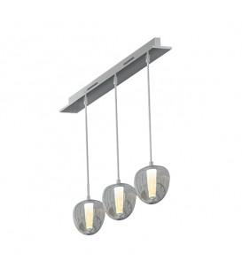 Подвесной светильник Maxus 6W яркий свет 280мм круглый белый