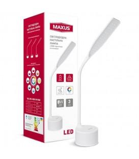 Умная лампа MAXUS DKL RGB 8W белая
