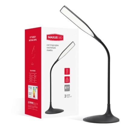 Умная лампа Maxus DKL 6W (аккумулятор, димминг) квадрат