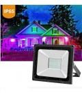 Светодиодный прожектор RGB 50W Lemanso LMP76-50 (цветной)+пульт