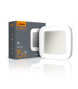 LED светильник накладной квадрат VIDEX 24W 5000K
