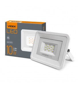 LED прожектор VIDEX 10W 5000K 220V White